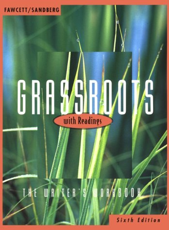 9780395881675: Grassroots With Readingss: The Writer's Workbook