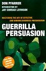 9780395881682: Guerrilla Persuasion