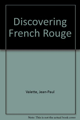 9780395883556: Discovering French Rouge