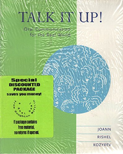 9780395885734: Talk It Up!: Integrating Listening, Speaking, and Pronunciation