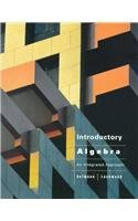 Introductory Algebra: An Integrated Approach : Preliminary: Richard N. Aufmann,