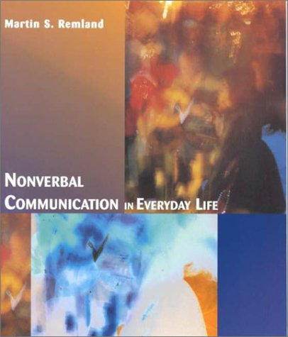 9780395888568: Nonverbal Communication in Everyday Life