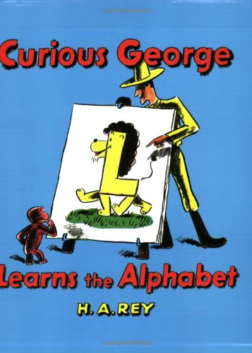 9780395891131: Curious George Learns the Alphabet Book & Cassette