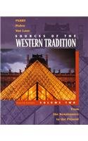 Sources of the Western Tradition: From the: Marvin Perry, Joseph