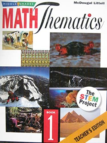 Middle School MATH THEMATICS The Stem Project (Book 1): Rick Billstein