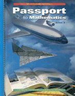 Passport To Mathematics, Book 1: English-Spanish Problem-Solving Transparencies-Packaged Set (1999 ...