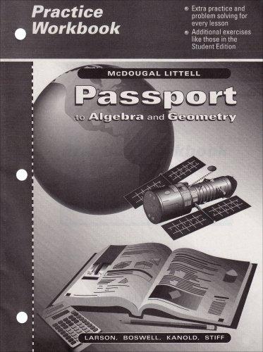 9780395896709: McDougal Littell Passports: Practice Workbook (Student) Book 3