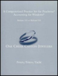 9780395898154: Oak Creek Canyon Jewelers: Payroll Computerized Practice Set (Peachtree)