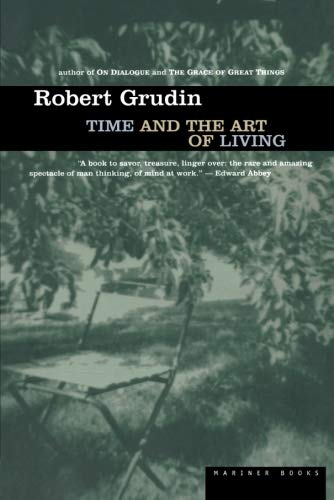 9780395898314: Time and the Art of Living