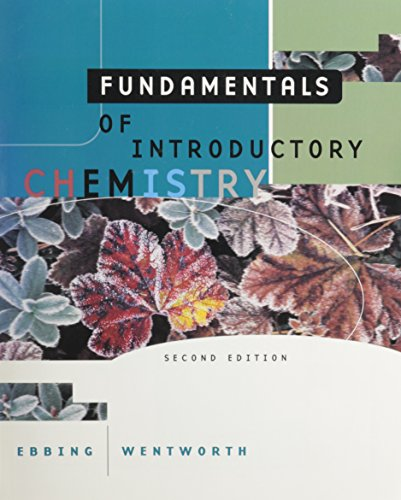 9780395899212: Fundamentals of Introductory Chemistry