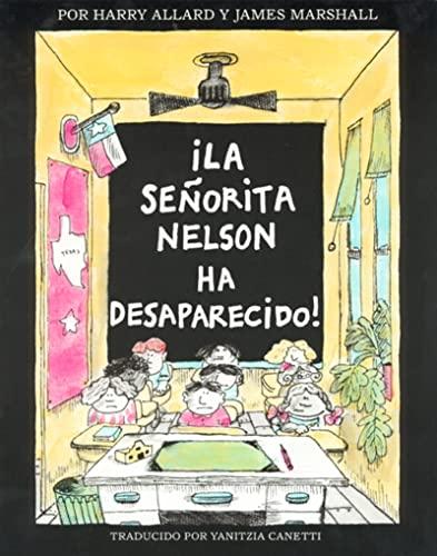 9780395900086: ?La senorita Nelson ha desaparecido! (Spanish Edition)