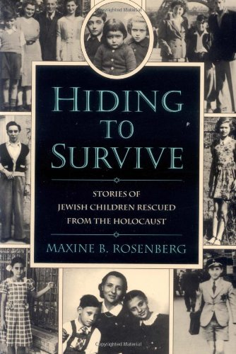 9780395900208: Hiding to Survive: Stories of Jewish Children Rescued from the Holocaust