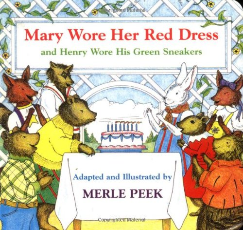 9780395900222: Mary Wore Her Red Dress and Henry Wore His Green Sneakers