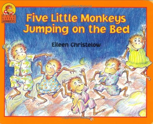 9780395900239: Five Little Monkeys Jumping on the Bed