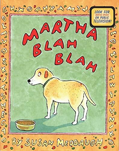 9780395901182: Martha Blah Blah (Martha Speaks)