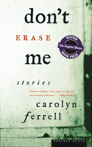 9780395901359: Don't Erase Me: Stories