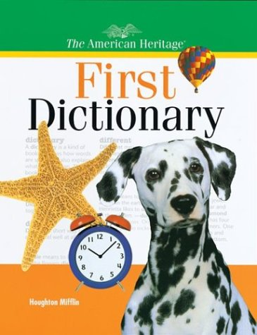 9780395902103: The American Heritage First Dictionary