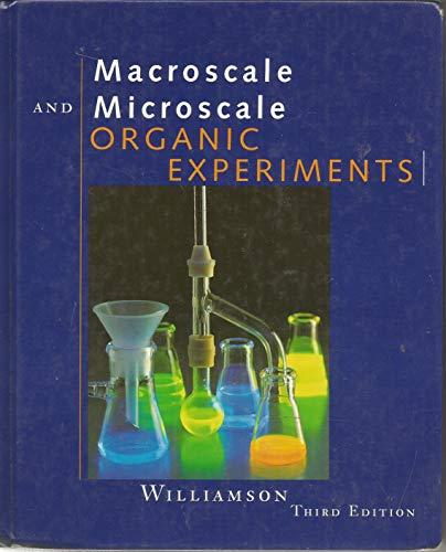 9780395902202: Macroscale and Microscale Organic Experiments