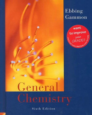 9780395902226: General Chemistry Sixth Edition