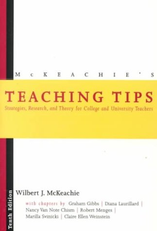 9780395903452: McKeachie's Teaching Tips: Strategies, Research, and Theory for College and University Teachers