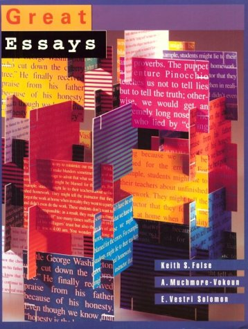 9780395904251: Great Essays: An Introduction to Writing Essays