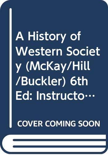 A History of Western Society (McKay/Hill/Buckler), 6th: John Marshall Carter