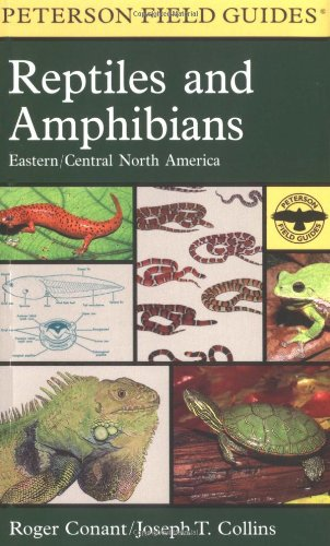 9780395904527: A Field Guide to Reptiles and Amphibians: Eastern and Central North America (Peterson Field Guides)