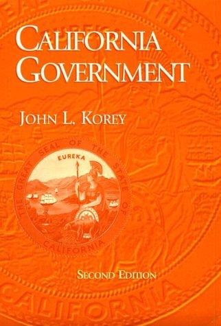9780395905616: California Government