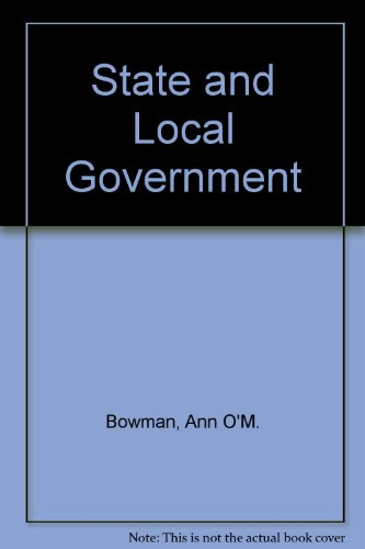 9780395906170: State and Local Government