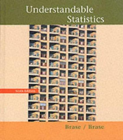 9780395907689: Understandable Statistics