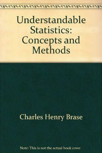 9780395907696: Understandable statistics: Concepts and methods