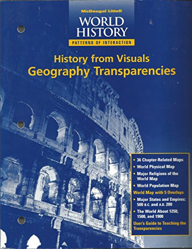 9780395908440: Modern World History: Patterns of Interaction: History from Visuals, GEOGRAPHY TRANSPARENCIES