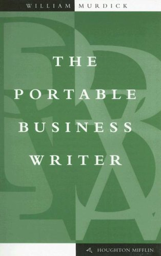 9780395909218: The Portable Business Writer (The English essentials series)