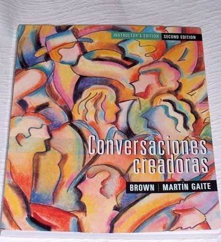 9780395909294: Conversaciones Creadoras