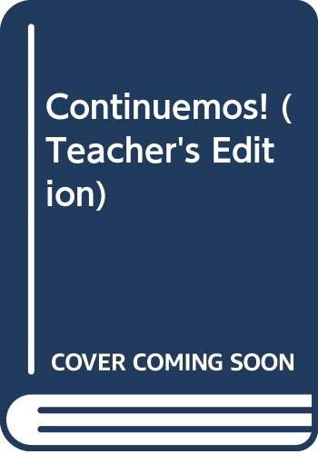9780395909539: Continuemos! (Teacher's Edition)