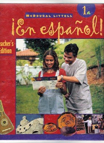 9780395910788: En Espanol 1A - Teacher's Edition