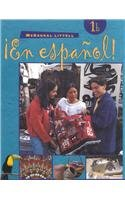 9780395910795: ¡En español!: Student Edition (hardcover) Level 1B 2000 (Spanish Edition)