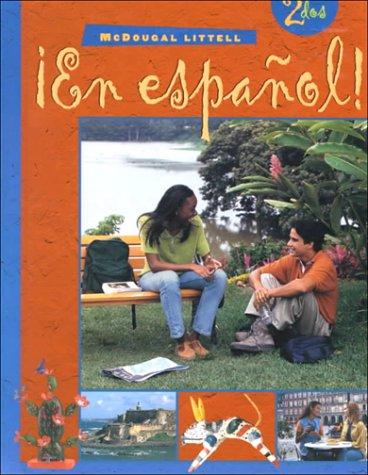 9780395910832: ¡En español!: Student Edition (hardcover) Level 2 2000 (Spanish Edition)