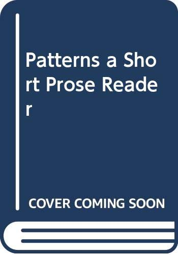 Patterns a Short Prose Reader (0395911052) by Conlin, Mary Lou