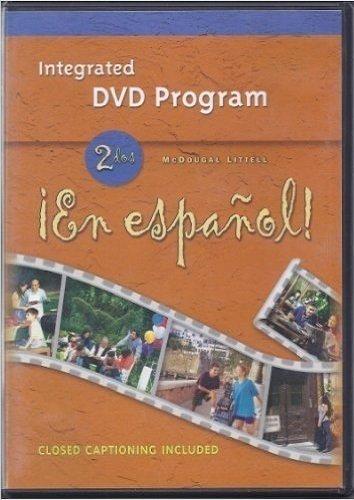 9780395912225: McDougal Littell ?En Espa?ol!: DVD Program Level 2