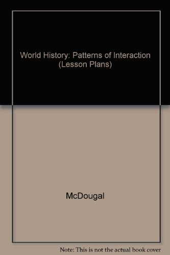 9780395912973: World History: Patterns of Interaction (Lesson Plans)
