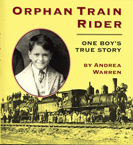 9780395913628: Orphan Train Rider: One Boy's True Story