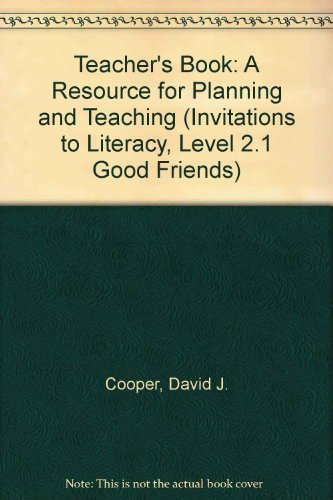 Teacher's Book: A Resource for Planning and: Cooper, David J.,
