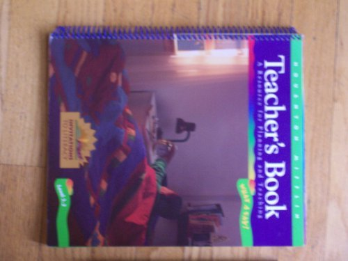 9780395914502: Level 3.2 What a Day Teachers Book Houghton Mifflin Invitations to Literacy Teachers Edition