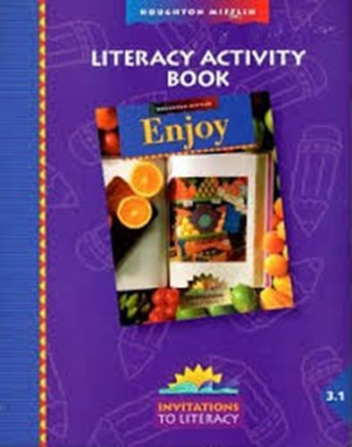 9780395914953: Houghton Mifflin Reading: Literacy Activity Book Level 3.1