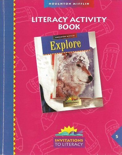 9780395914984: Houghton Mifflin Reading: Rd Lit Activity Book Lv 5  -Imp