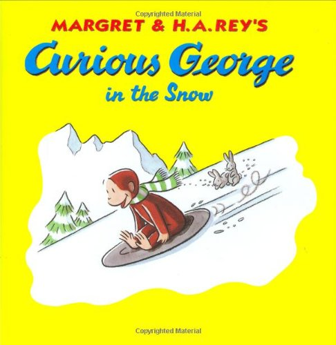 9780395919026: Curious George in the Snow