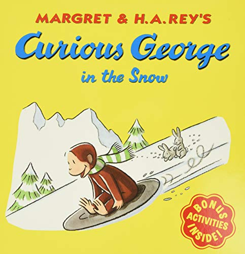 9780395919071: Curious George in the Snow