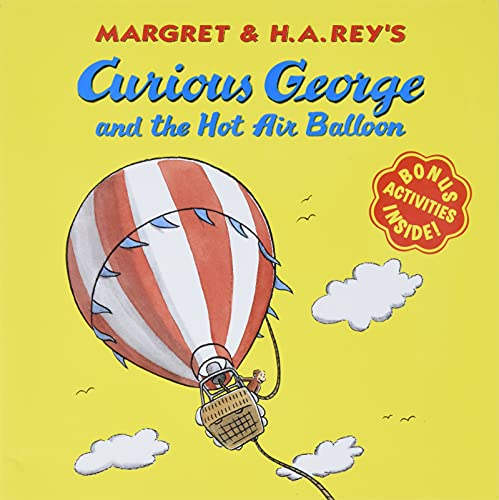 9780395919095: Curious George and the Hot Air Balloon (Curious George 8x8)