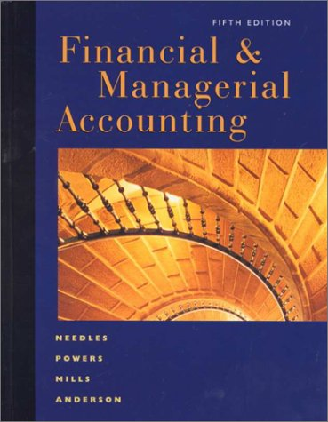 9780395920985: Financial & Managerial Accounting